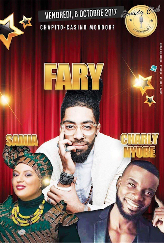 Affiche - Fary 6 oct 2017
